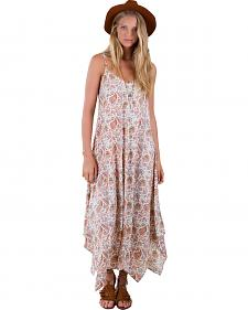 Others Follow Sunday Morning Paisley Print Dress