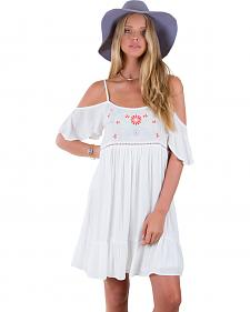 Others Follow White Harbor Mist Off Shoulder Dress