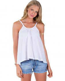 Others Follow Women's Sunbather White Tank Top