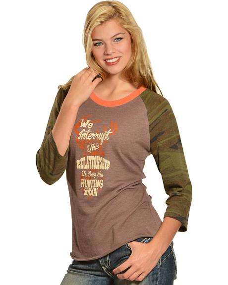 Cowgirl Justice Women's Hunting Season Tee