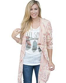 Petrol Women's Softie Ikat Sweater