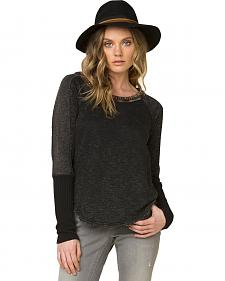 Miss Me Women's Black World Traveler Sweater