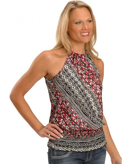 Panhandle Slim Clothesline Halter Top