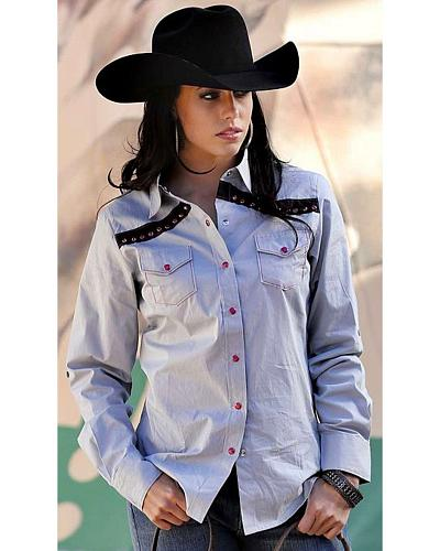 Cruel Girl Long Sleeve Snap Front Shirt Western & Country CTW9248001