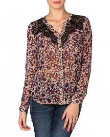 Miss Me Floral Lace Top