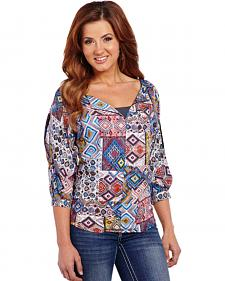 Cowgirl Up Southwestern Top