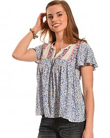 Flying Tomato Daisy Sweetheart Top