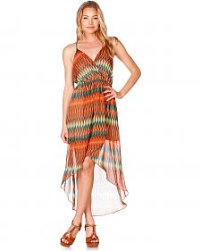 Miss Me Desert Oasis High-Low Dress