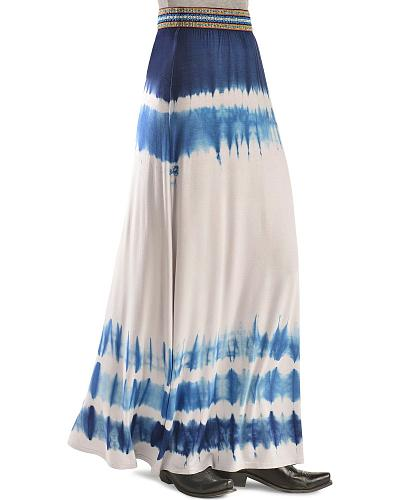 Miss Me Tie Dye Maxi Skirt Western & Country MDS008