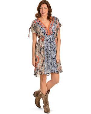 Miss Me Prints Collide Dress