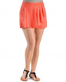 Miss Me Women's Drape Wrap Skort