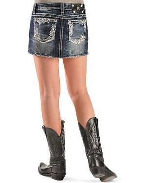 Miss Me Blue Crush Denim Skirt