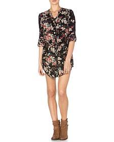 Miss Me Floral Front Dress