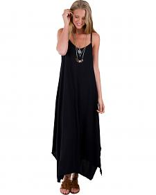 Others Follow Women's Black Kiara Long Tank Dress