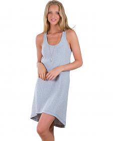 Others Follow Women's Walk With Me Grey Tank Dress