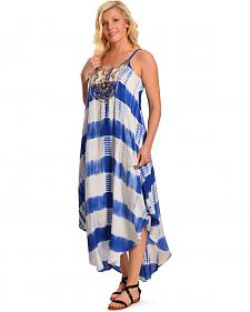 Flying Tomato Women's Tie-Dye Maxi Dress