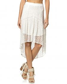 Miss Me Hi-Lo Lace Skirt