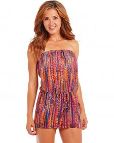 Cowgirl Up Multicolored Romper