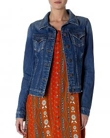 Miss Me Women's Classic Denim Jacket