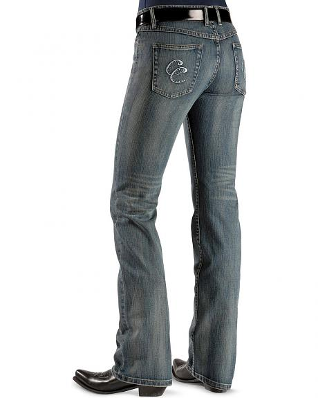 Cripple Creek Jeans - Rhinestone Accents Slim Fit - 36