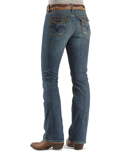 Levis   Jeans Boot Cut 515 Western & Country VNT FROST