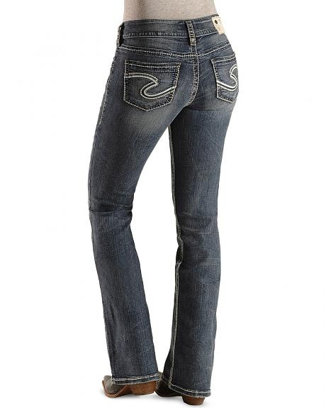 Silver Jeans - Suki Relax Fit Bootcut Jeans - 32