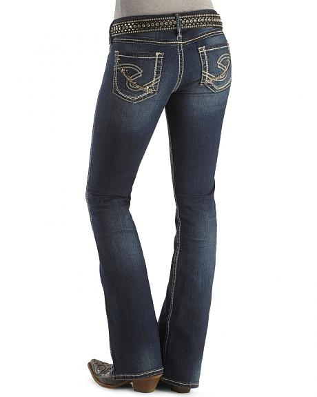 Silver Jeans - Twisted Boot Cut Jean - 33