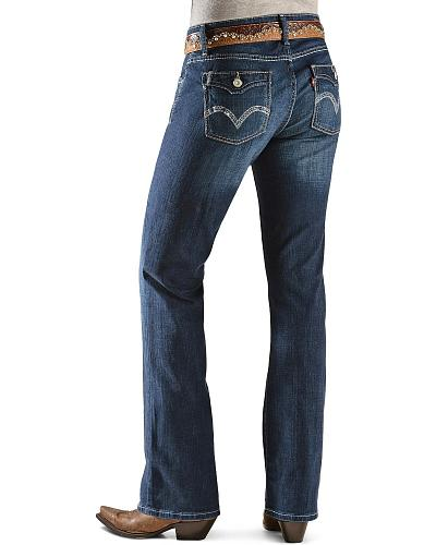 Levis  529 Curvy Bootcut Jeans Western & Country 58715-0008
