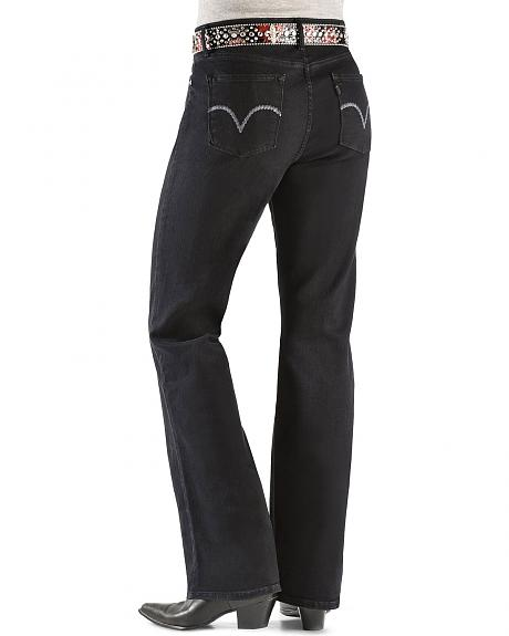 Levi's ® 512 Jeans Perfectly Shaping Black Bootcut Jeans