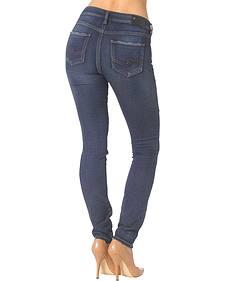 Silver Aiko Skinny Yoga Jeans