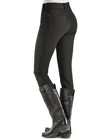 Silver Women's Aiko Black Skinny Ponte Jeans