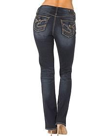 Silver Women's Suki Mid Rise Slim Bootcut Jeans