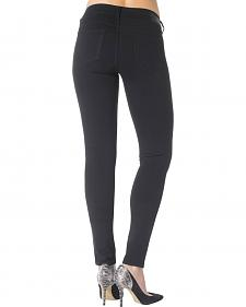 Silver Jeans Co. Aiko Black Mid Super Skinny Joga Jeans
