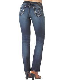 "Silver Women's Suki Slim Bootcut Jeans - 33"" Inseam"