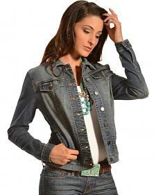 Kut from the Kloth Women's Cropped Denim Jacket