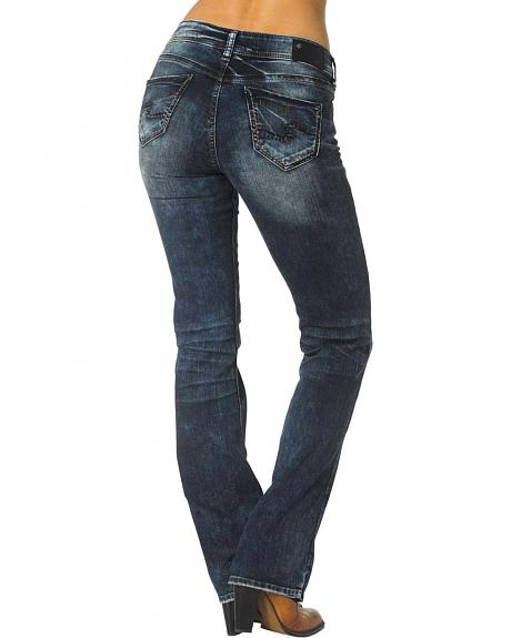 Silver Women's Suki Slim Bootcut Relaxed Fit Jeans - 33