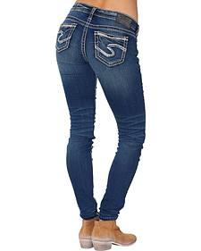 "Silver Women's Aiko Super Skinny Jeans - 31"" Inseam"