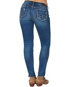 "Silver Women's Suki Mid Skinny Jeans - 31"" Inseam"