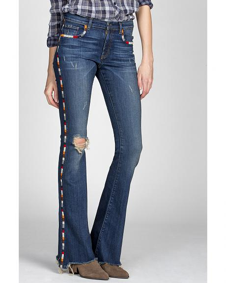 MM Vintage by Miss Me Women's Janis Flare Jeans