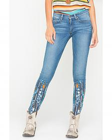 MM Vintage by Miss Me Anais Blue Skinny Jeans