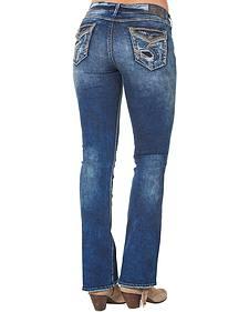 "Silver Women's Elyse Mid Dark Wash Bootcut Jeans - 33"" Inseam"