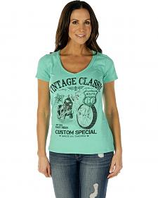 Liberty Wear Women's Vintage Classic Short Sleeve Tee