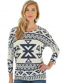 Wrangler Women's Multi Long Sleeve Sweater