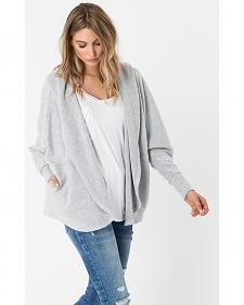 Z Supply Women's Silver The Loft Cardigan