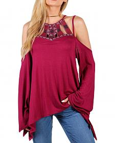 Shyanne Women's Cleo Cold Shoulder Top