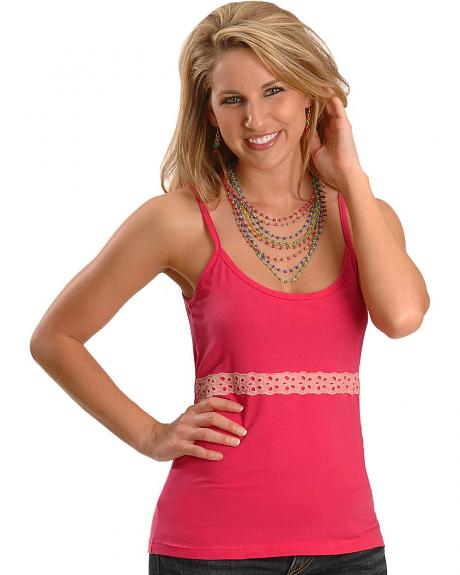 Cripple Creek Raspberry Camisole