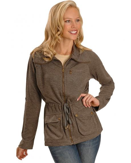 Cripple Creek Tie Waist Knit Jacket