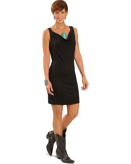 Cripple Creek Sleeveless Rhinestone Embellished Dress