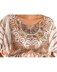 Panhandle Slim Paisley & Rhinestone Kimono Sleeve at Sheplers