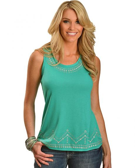 Wrangler Rock 47 Silver Detail Tank Top
